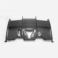 Carbon Fiber Rear Diffuser Glossy Fibre Bumper Under Panel Auto Racing Body Kit Car Styling Accessories Fit For F82 M4 PSM Style