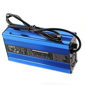 Image 2 - Carregador inteligente de bateria de lítio, 71.4v 2a, 17s, 60v, 20ah, para bicicleta elétrica, scooter para bicicleta dc110 220v saída 71.4v 2a volt