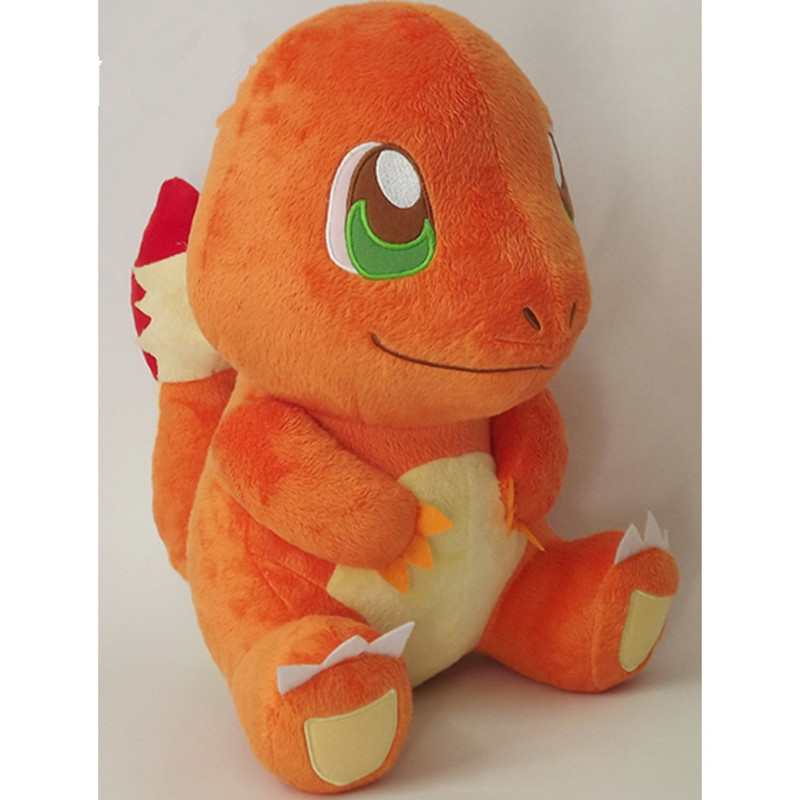30cm Charmander Plush Toy Figures Toys Soft Stuffed Anime Cartoon Dolls  Birthday presents for children