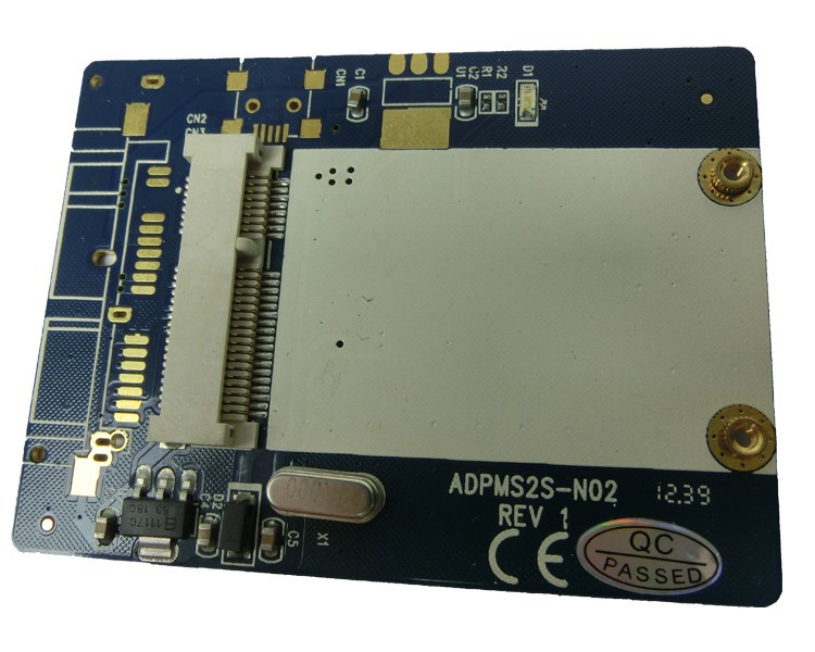 msata ssd to lif adapter 1.8 inch ce zif ssd