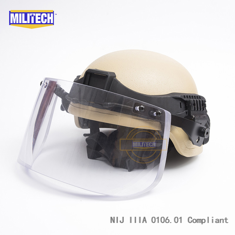 Back To Search Resultssecurity & Protection Militech Od Nij Iiia 3a Mich Bullet Proof Helmet Aramid Ach Ballistic Helmet Bulletproof Mitch 2000 Helmet With Test Report Goods Of Every Description Are Available