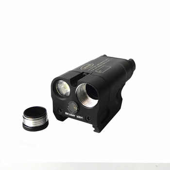 SF Laser Light Compact Pistol Flashlight With Red Dot Laser Tactical LED MINI White Light 200 Lumens Airsoft Flashlight