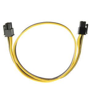 Image 2 - En Labs PCIe 6pin Male to Male PCI E Power Cable for GPU Power Supply Breakout Board Adapter for Ethereum Mining ETH ZEC