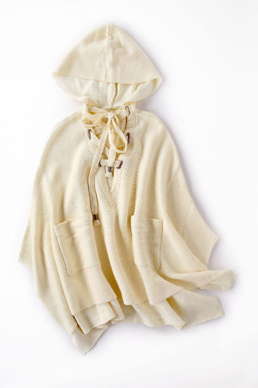 Outwear C1871 Femelle Manteau Capuchon Manches Mode Femmes Beige noir Nouveau À 2018 Occasionnel Col Hiver Automne Solide Lâche Veste Longues HWIYED29