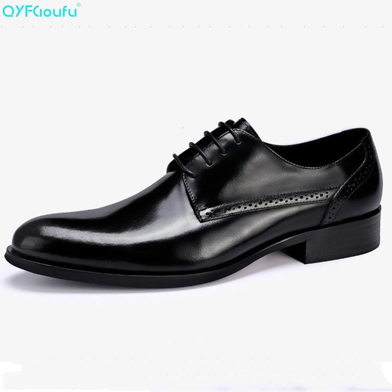 c0af1e43 Encaje Negocios Tinto Cuero Vestir De Qyfcioufu Negro Genuino Lujo vino  Vaca Famoso Calidad Diseñador Alta Los Hombres Marca Zapatos xw0q7gp