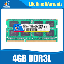 DDR3L 4GB 1333MHz Sodimm Ram DDR 3L 1600 PC3-12800 204PIN Ram Compatible For All Intel AMD ddr3 Motherboard Lifetime Warranty