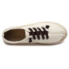 Plus Size 36-45 Embroider Women Men Shoes 2019 Slip on Fisherman Shoes