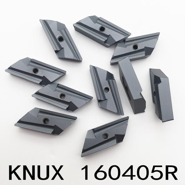 10 قطعة KNUX 160405 أداة القطع KNUX160405R إدراج أداة تحول الصلب شفرة