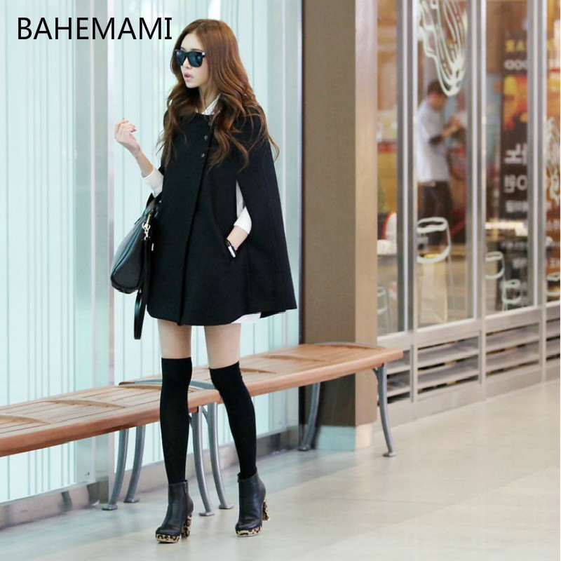 BAHEMAMI Fashion Maternity Clothes New Style Loose Woolen Cloak Coat In The Long Section Of Wool Coat Wild Pregnant Women Shawl