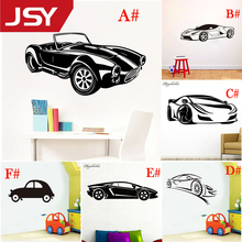 Car Wall Stickers Wall-Sticker for Kids Room Living Room Home Decor  Vinyl Stickers Waterproof Wallpaper Mural creative dream big wall stickers vinyl waterproof home decoration for living room kids room mural poster