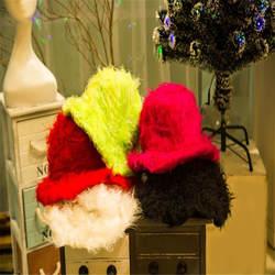 Милые цветные одноликие плюшевые двухликие шапка, аксессуары для фотографий Косплей плюшевая игрушка шляпа Рождество Хэллоуин День