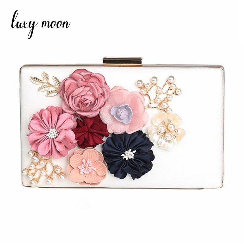 84ae81f33ea6 US $20.23 21% OFF|Famous designer evening bag Chain handbag Women Clutch  Lady Flower Day Clutches Female Wedding Clutch Purses Flower Bag ZD406-in  ...