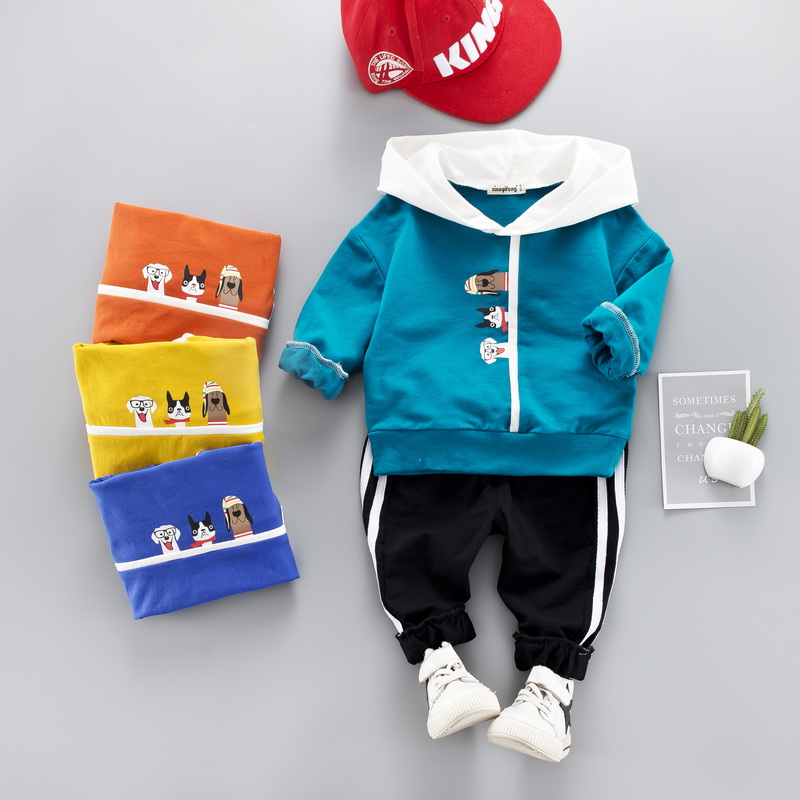 369dc4164836 Boys Girls Children Hoodies Winter Wool Sherpa Baby Sports Suit New ...