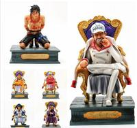 14 23cm Japanese anime figure one piece Kuzan Portgas D Ace Issho Sakazuki statue action figure