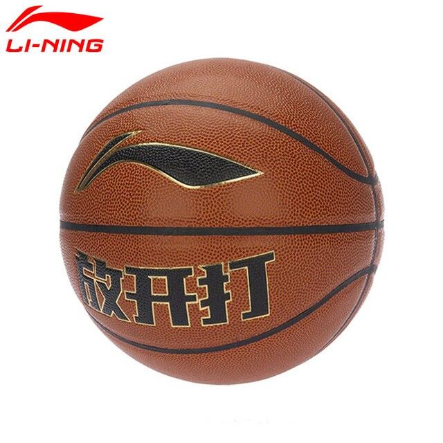 Li-Ning G500 CBA Professional Competition Basketball PU LiNing Outdoor Sports Basketball ABQM034 ZYF156