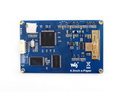 Image 2 - Waveshare 4.3inch serial interface electronic paper display with  embedded font libraries E Ink display 800x600  resolutionresolutionlibrary