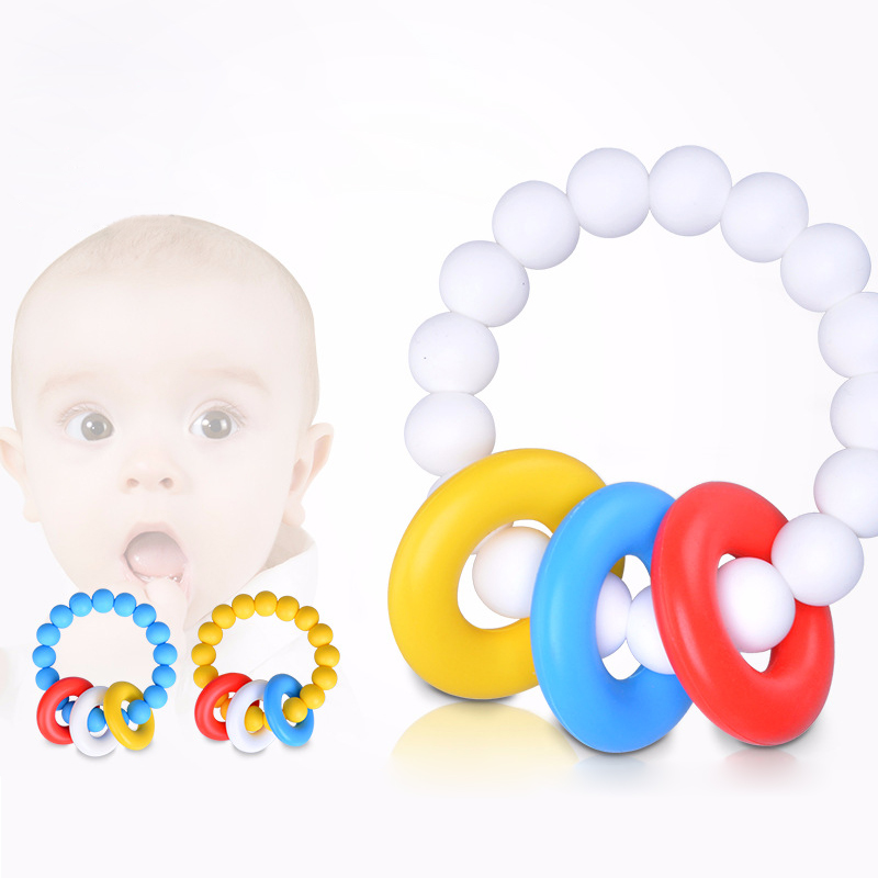Platube Silicone Baby Bijtring Double Side Massager Tand Training - Baby verzorging - Foto 1