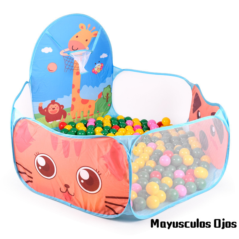 1PC Storage Hexagon Folding Ball Pool Indoor Childrens Tent Play House Baby Marine Ball Pool Shooting Toys