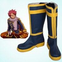 Anime Fairy Tail Natsu Dragneel Cosplay Ayakkabı Bot Kostüm Custom Made Yeni Için