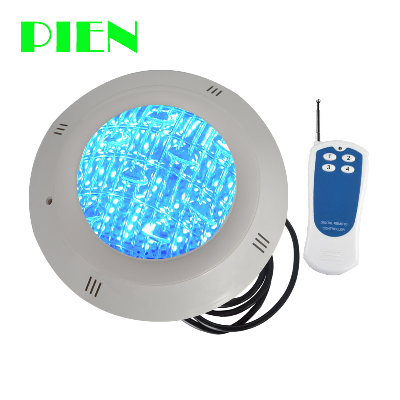 LED RGB Underwater Swimming Pool Light Surface Mount 12V AC DC Waterproof IP68 With Remote Control
