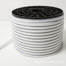 Fanlive 100m/lot 25*15mm LED Rope Neon Strip 14w AC220V 240v DC12V RGB Flexible Background Light Waterproof 120leds/m