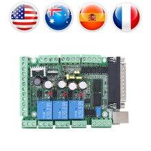 ЧПУ секционная плата MACH3V2.1-L секционный модуль шаговый мотор контроллер драйвера 4-axls 6-axls гравировальный станок доска