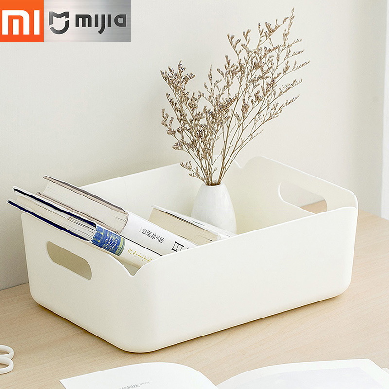 Xiaomi Square Desktop Storage Box Multi-purpose Storage Box Cosmetics,Daily Necessities,Cleaning Supplies,Stationery Storage Box