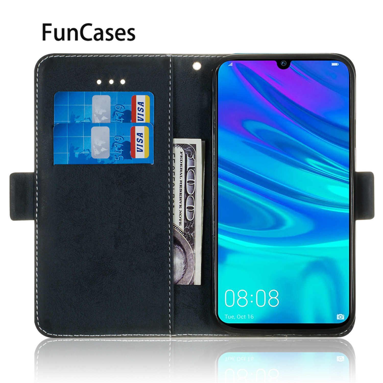 Accessoires de téléphone ordinaire pour hoesje Huawei Honor 10 Lite PU étuis de livre en cuir pour Huawei accesorios P Smart 2019 Hoesje