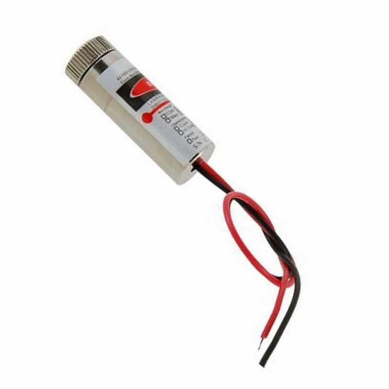 Chất Lượng cao Đường Đỏ Laser Mô Đun 5 mW 650nm Tập Trung Điều Chỉnh Đầu Laser 5 V Cấp Công Nghiệp P0.05