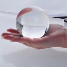 Free shipping perfect no scratch 60mm Rare Natural Quartz Crystal glass Sphere Clear Magic Ball Chakra Healing Gemstone