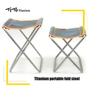 TiTo Titanium Folding Chair Ca