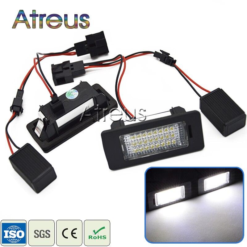 Atreus 2 db-os autó LED rendszámtábla világítás 12V SMD3528 LED - Autó világítás