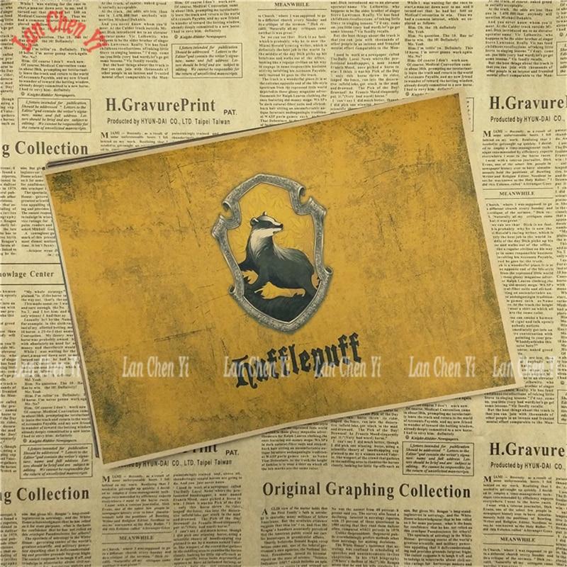 Magic Academy Academy Drawing core Classic Movie Kraft Paper Poster - Տնային դեկոր - Լուսանկար 5