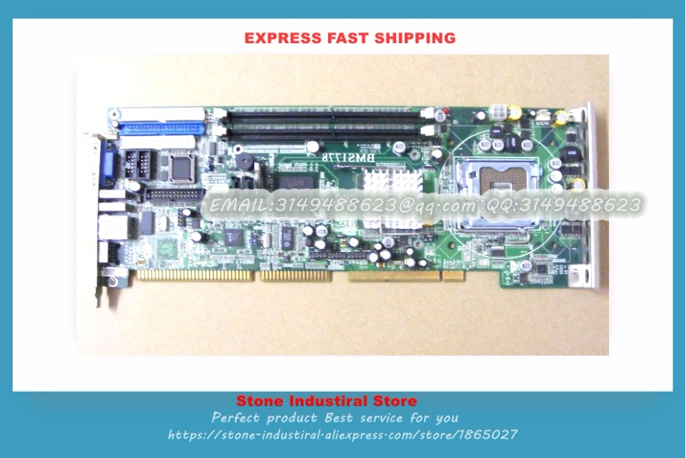 865G 775 industrial motherboard BMS1778 775-pin CPU board 100% test good quality m945m2 945gm 479 motherboard 4com serial board cm1 2 g mini itx industrial motherboard 100