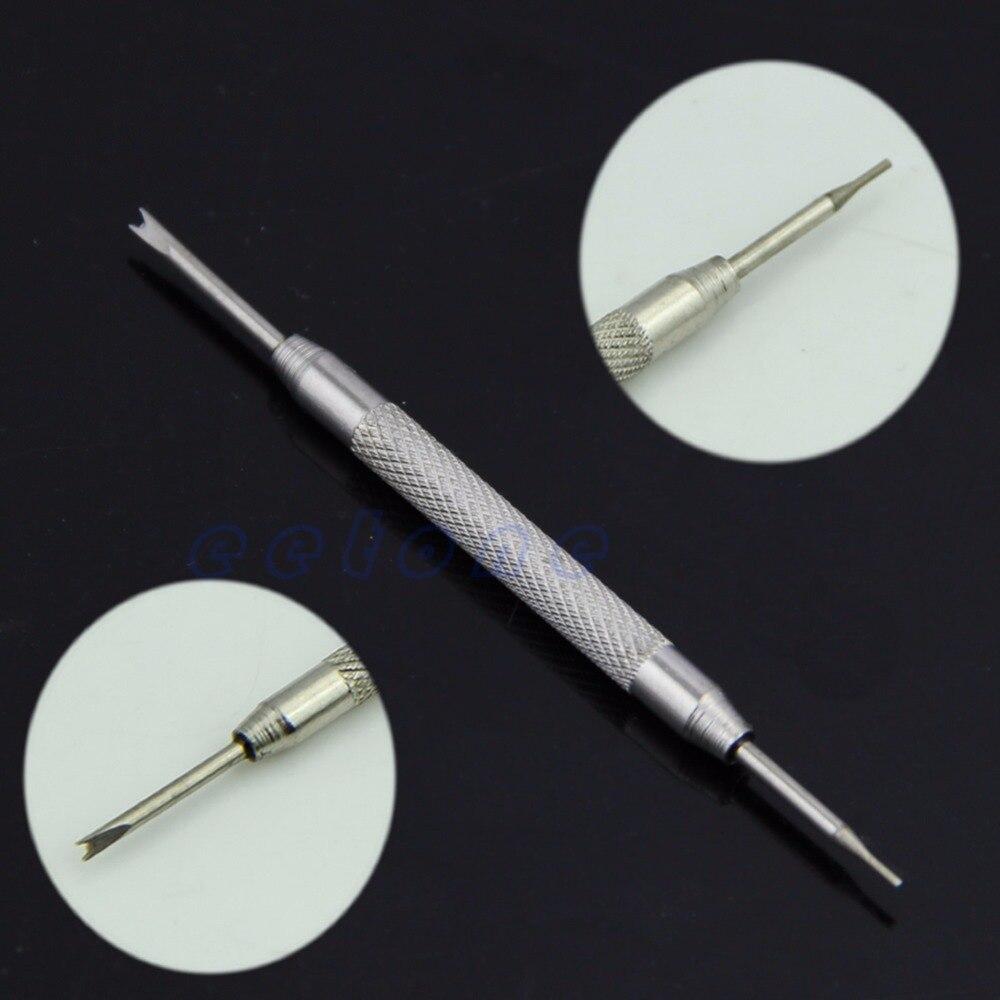 1 Stück Schmuck Uhr Band Frühling Bar Link Pin Entfernung Werkzeug Reparatur Edelstahl Verschiedene Stile