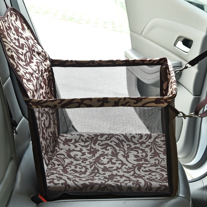 New High Quality Dog Cat Bag Solid Pet Carrier Safety Outside Traveling Carrier Breathable 4 Seasons Available 2 Colors