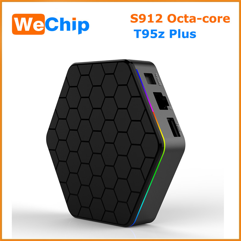 [WeChip] T95Z PLUS Android 6.0 TV Box S912 octa-core cortex-A53 2G/16G KDPlayer