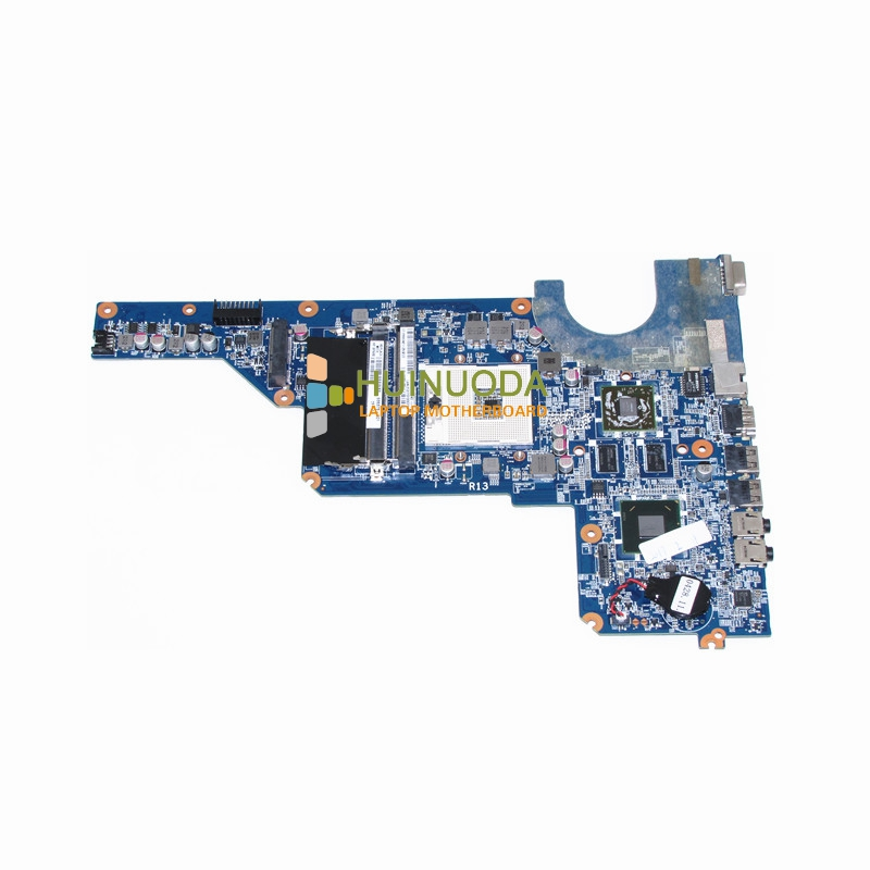 NOKOTION 636375-001 laptop motherboard for HP Pavilion G4 G6 G7 650199-001 DA0R13MB6E0 HM65DDR3 ATI HD 6470 1GB ddr3 Mainboard nokotion 653087 001 laptop motherboard for hp pavilion g6 1000 series core i3 370m hm55 mainboard full tested