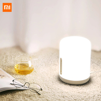 Original Xiaomi Mijia Bedside Lamp 2 Bluetooth WiFi Connection Touch Panel APP Control Works For Apple HomeKit Siri Mihome App Smart Remote Control