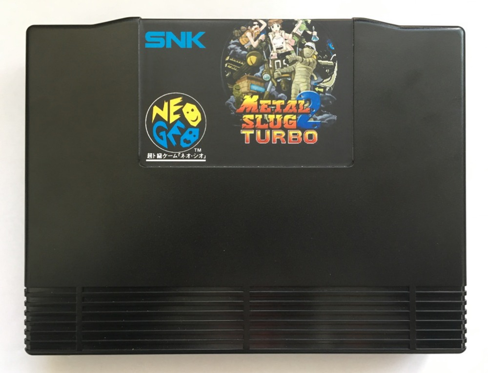 NEOGEO AES Metal Slug 2 Turbo(Hacked) Game Cartridge for SNK NEO GEO AES ConsoleNEOGEO AES Metal Slug 2 Turbo(Hacked) Game Cartridge for SNK NEO GEO AES Console