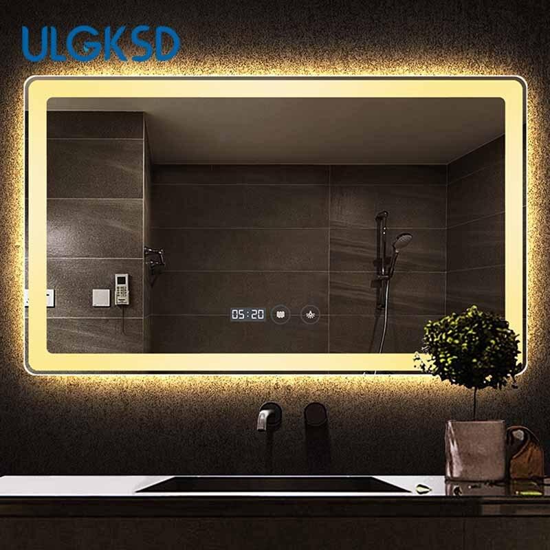 Smart Bathroom Mirror Bathroom Mirror Anti Fog Explosion ...
