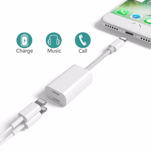 2 in 1 Audio Cable Headphone Charging Dual Lighting Adapter Cable Splitter Charge Sync Data for  sc 1 st  AliExpress.com & 2 in 1 Audio Cable Headphone Charging Dual Lighting Adapter Cable ... azcodes.com