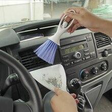Lavagem de carro Ferramenta de Limpeza Do Carro Detalhamento de Enfermagem Escova de Remoção de Poeira Teclado Multifunções Ar Condicionado Interno Interno