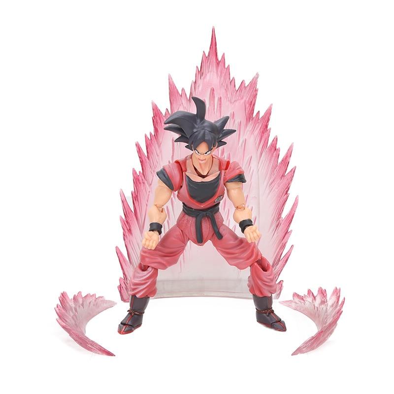 Dragon Ball Z Action Figure Gohan Goku Vegetto Vegeta Trunks Piccolo Freeza 18 with rotating joints 20
