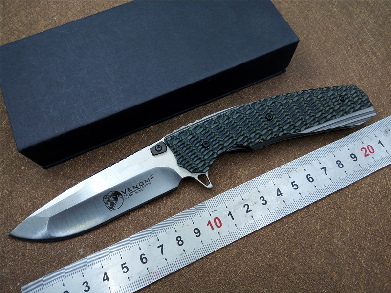 Folding Knife KESIWO KS014 S35VN blade G10 handle hand tool EDC ball bearing Flipper pocket tactical outdoor camping knife