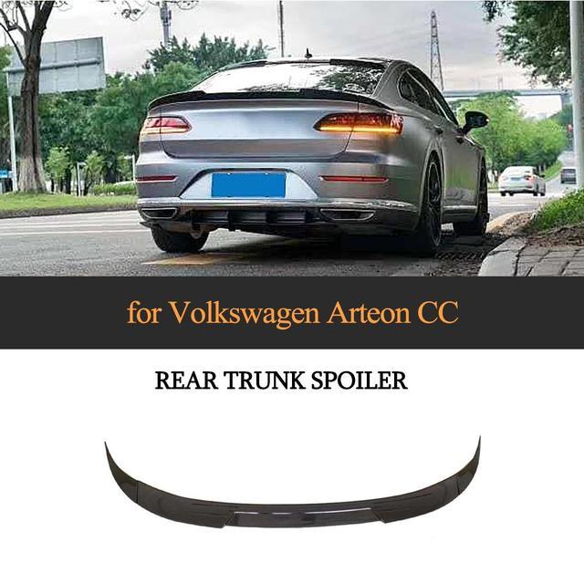 On Sale Car Rear Trunk Spoiler Wing Lip For Volkswagen Vw Cc