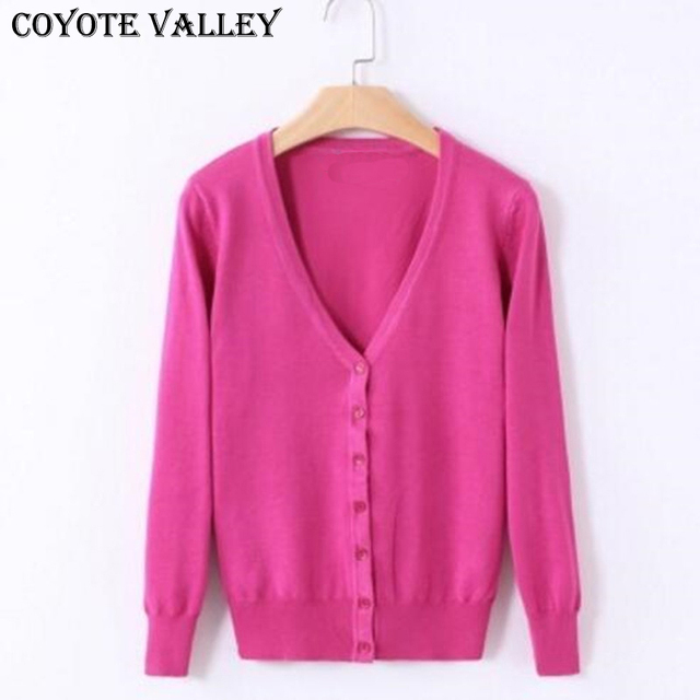 b89548159 2017 Solid Colors new Sweater Women Cardigan Knitted Sweater Coat ...