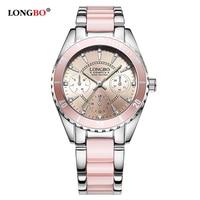 Longbo Брендовые женские часы женские кварцевые часы женские наручные часы Relogio feminino Montre Relogio feminino Mujer 80303