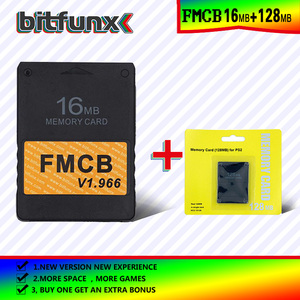 Image 5 - Bitfunx FMCB Free McBoot Memory Card 16MB  v1.966 in new version &new function+8/16/64/128MB memory card pack