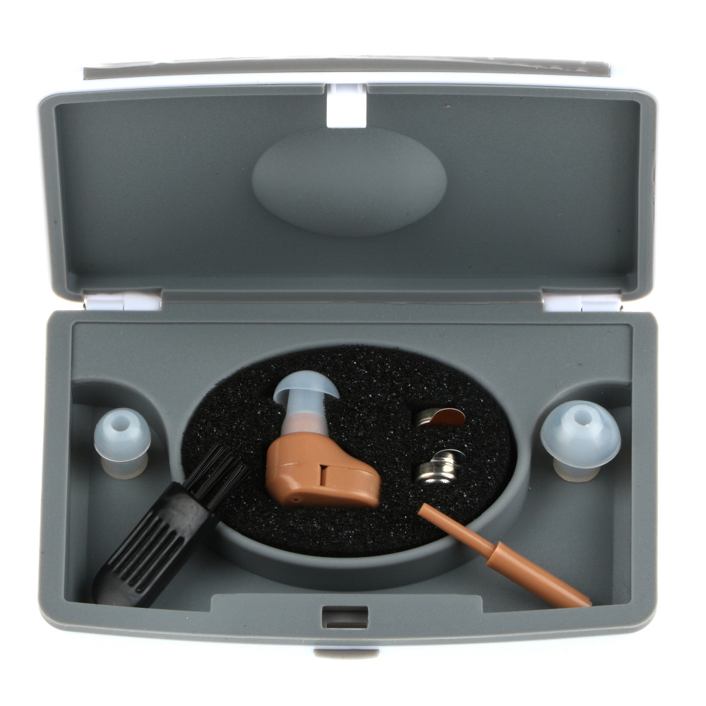 Venta caliente ZDC-900 Fabricante profesional Mini In Ear Sound Amplificador de voz invisible audífono para amplificador de sonido